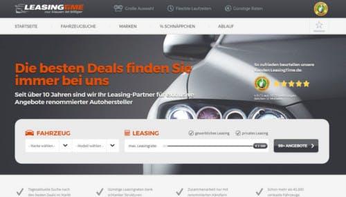 Leasingtime.de-Startseite