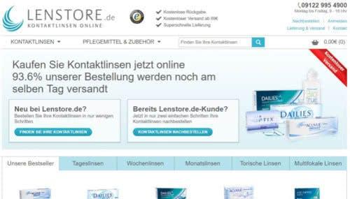 Lenstore-Startseite