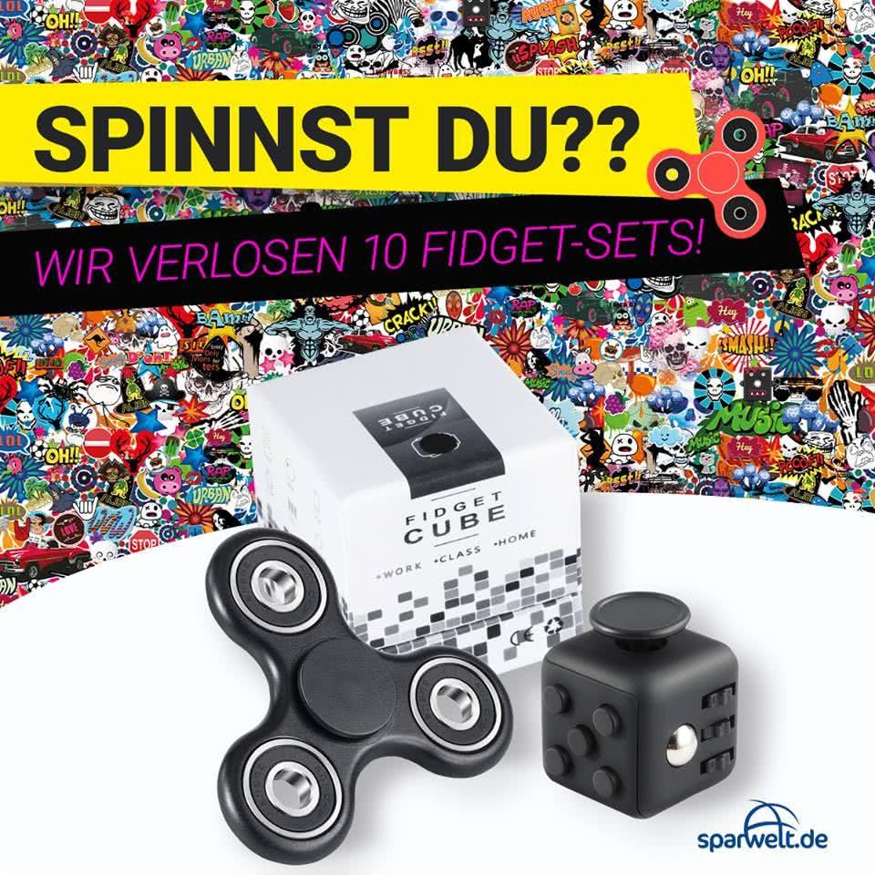Facebook-Gewinnspiel Fidget Spinner