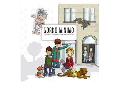 """Kinderbuch """"Gordo Minimo"""" gratis beim BMAS"""