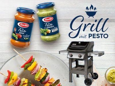 Barilla Pesto Weber Grill gewinnen
