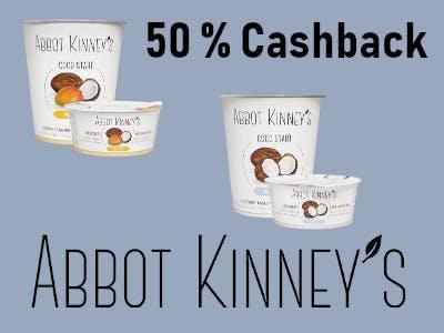 Abbot Kinneys pflanzlicher Joghurt - 1 Euro Cashback