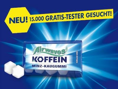 Airwaves Koffein gratis testen