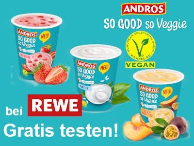Andros So good so Veggie gratis testen