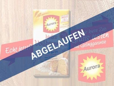 Aurora Helles Vollkornmehl gratis testen