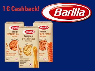 Barilla Pasta Neu testen - 1 Euro Cashback