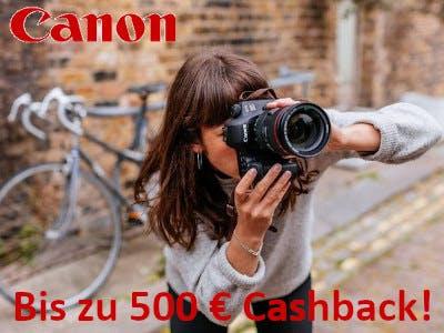 Canon Cashback Kompatible Objektive