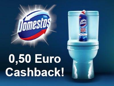 Domestos WC Reiniger 0,50 € Cashback