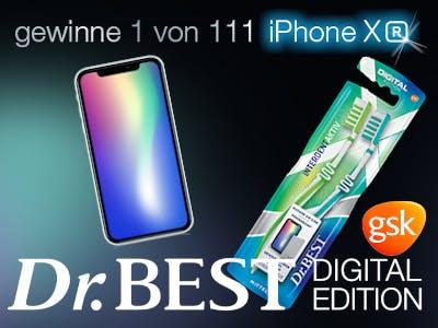 Dr.Best Digital Edition iPhone XR gewinnen