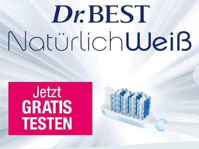 Dr.Best Natürlich Weiss gratis testen