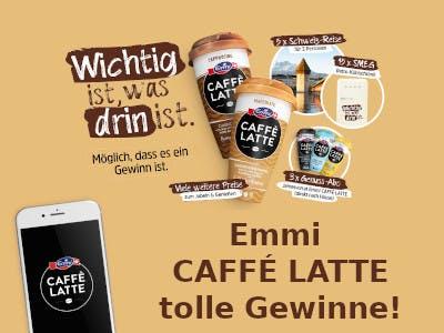 Emmi CAFFE LATTE Gewinnspiel