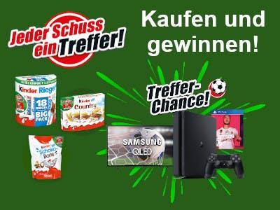 Ferrero Treffer-Chance Gewinnspiel