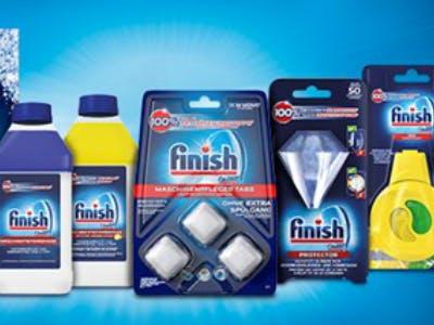 Finish Reiniger- und Maschinen-Zusätze