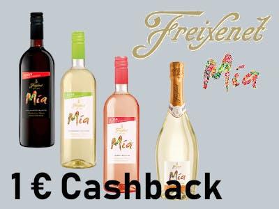 Freixenet Mia 1 Euro Cashback