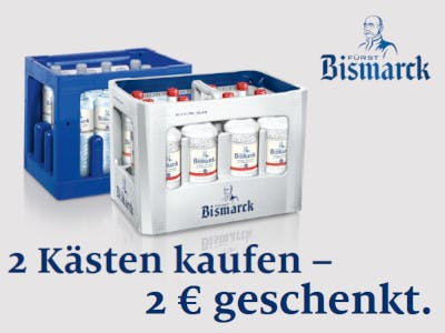 Fürst Bismarck 2 Euro Cashback