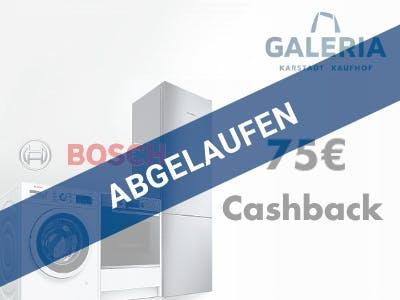 Bosch Aktionsgerät 75 Euro Cashback