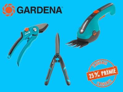 25 % Cashback-Prämie Gardena Gartenscheren