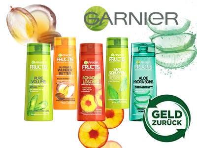 Garnier fructis gratis testen