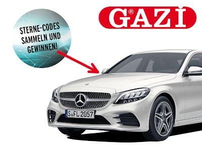 Gazi kaufen - Mercedes gewinnen