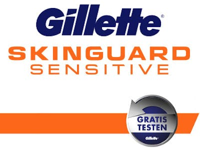 Gillette Skinguard Sensitive gratis testen