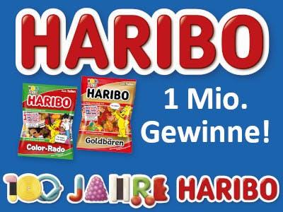 100 Jahre Haribo Gewinnspiel