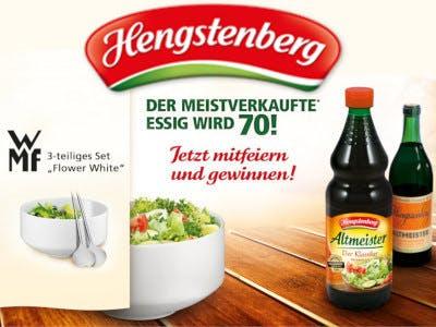 Hengstenberg Gewinnspiel WMF Salat-Set