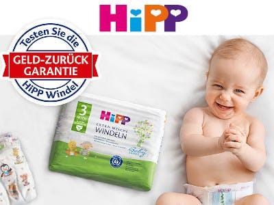 HIPP Windeln - Geld zurück