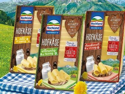 Hochland- Käse Gratis testen