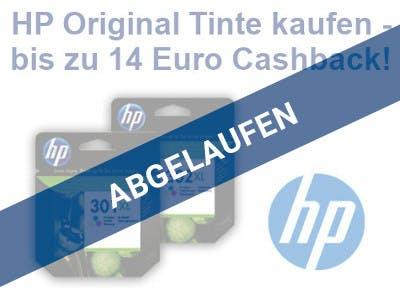 HP Original Tinte Cashback