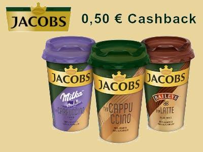 Jacobs Eiskaffee kaufen - 50 Cent Cashback