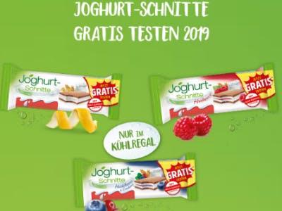 Joghurt-Schnitte mit 100% Cashback