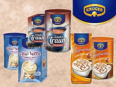 3 KRÜGER Produkte kaufen - 1,50 € Cashback