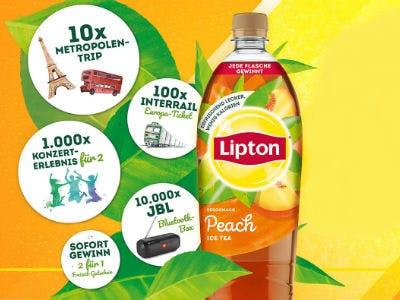 Lipton Eistee kaufen und 2 für 1 Freizeit-Gutschein erhalten