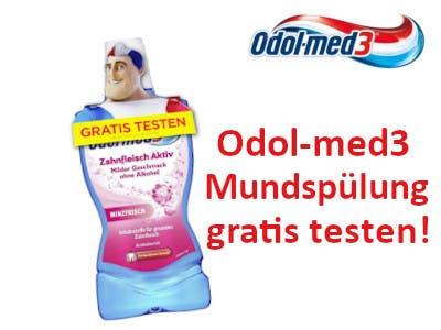 Odol med3 Mundspülung gratis testen