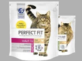 Katzenfutter-Proben von Perfect Fit