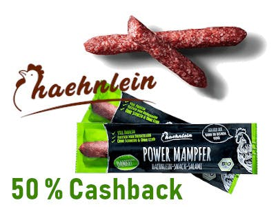 Mini Salami Power Mampfer - 50 Prozent Cashback