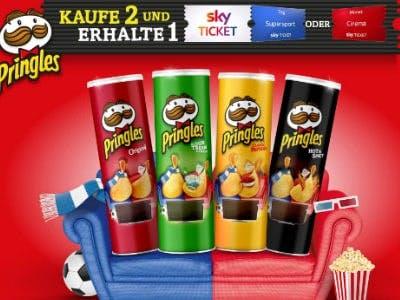 Prämienaktion mit Pringles und Sky