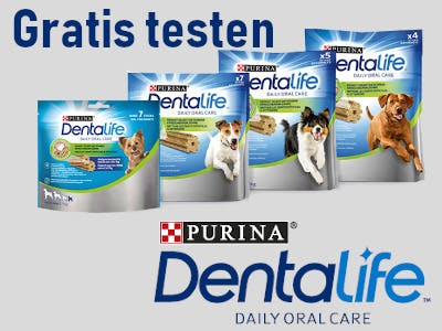 Purina Dentalife gratis testen