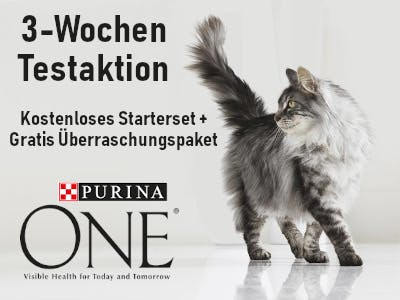 Purina One 3 Wochen Testaktion