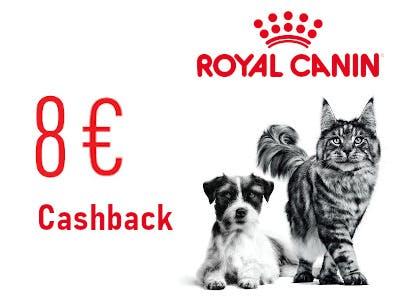 Royal Canin 8 Euro Cashback