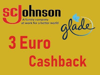 ScJohnson Glade - 3 Euro Cashback