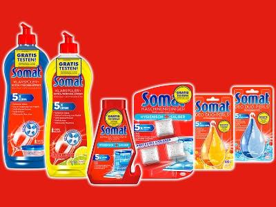 Geld-zurück-Aktion Somat-Produkte