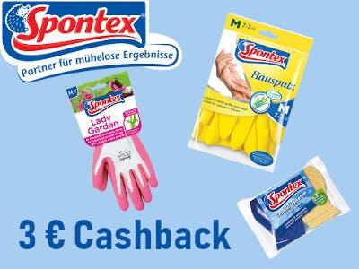 Spontex Produkte kaufen - 3 Euro Cashback
