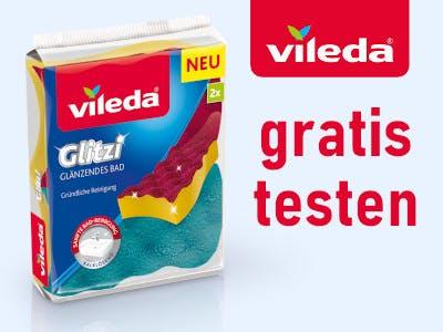 Vileda Glitzi gratis testen