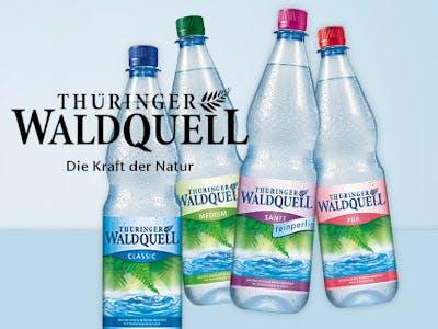 Thüringer Waldquell Mineralwasser 50 Cent Cashback