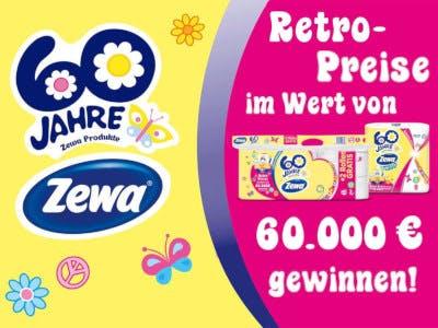 Zewa 60 Jahre Retro Gewinnspiel