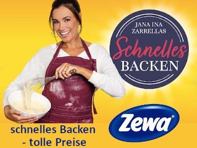 Zewa Wisch&Weg schnelles Backen - Backen mit Jana Ina Zarella