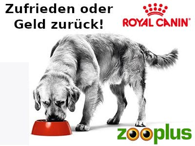 Zooplus Royal Canin Canine Care Nutrition Geld zurück