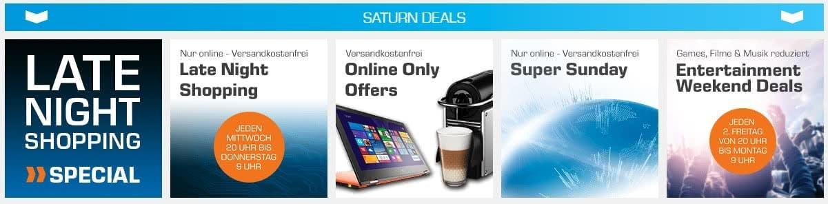 Saturn Deals im Online Prospekt
