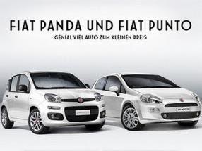 Fiat Panda und Punto Probefahrt